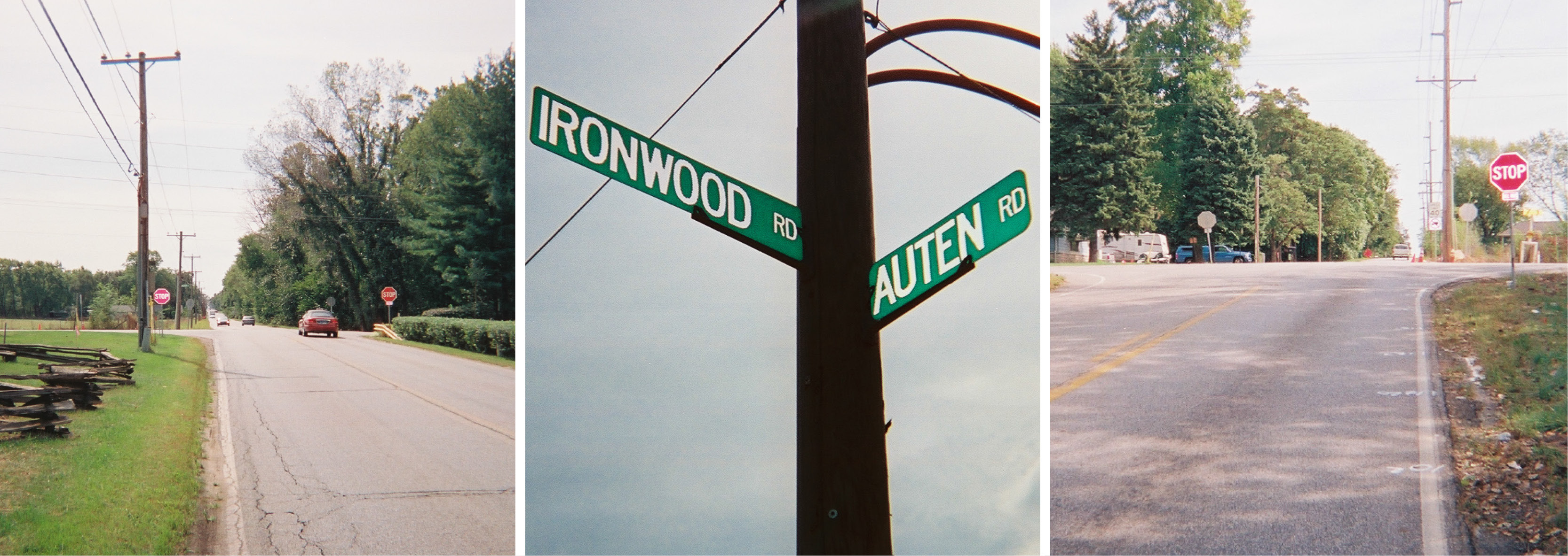 Ironwood and Auten Road Intersection