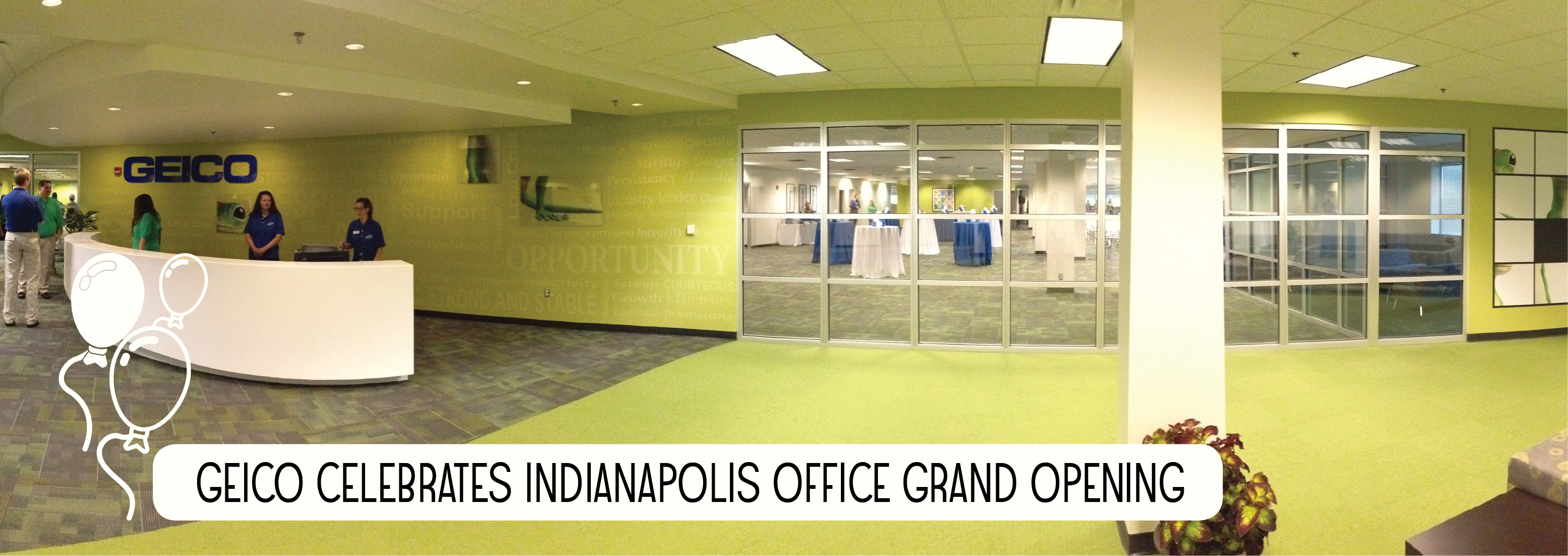 GEICO Celebrates Indianapolis Office Grand Opening | ...to the Point